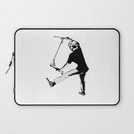 Deck Grabbing - Stunt Scooter Trick Laptop Sleeve
