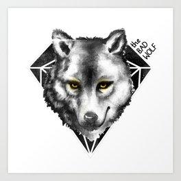The Bad Wolf Art Print