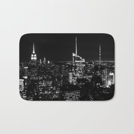 New York City B&W Bath Mat