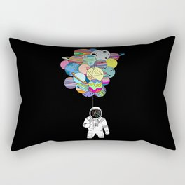 Space delusions Rectangular Pillow