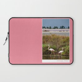 Flamingos in Camargue Laptop Sleeve