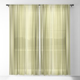 Color Streaks No 13 Sheer Curtain