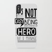 hero iPhone & iPod Cases featuring hero by ulas okuyucu