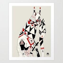poligono Art Print