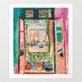 Henri Matisse The Open Window Art Print