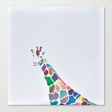 Show Your Real Spots - Giraffe Canvas Print