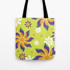 Flowerswirl Tote Bag