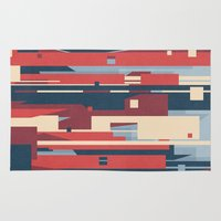metropolis Area & Throw Rugs featuring Metropolis by Tracie Andrews