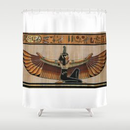 Maat Shower Curtain