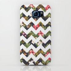 Floral Chevron Slim Case Galaxy S7