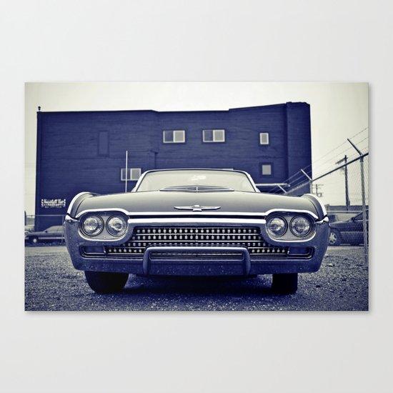 Thunderbird aesthetics Canvas Print
