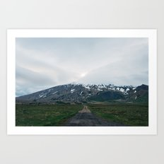 Snæfellsjökull Art Print