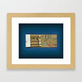 Sea Port NYC Framed Art Print