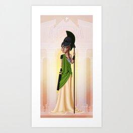 Greek Goddesses - Athena Art Print