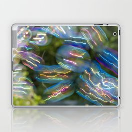 IRIDESCENT COLOURS OF SOAP FILM Laptop & iPad Skin