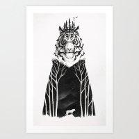 The Siberian King Art Print