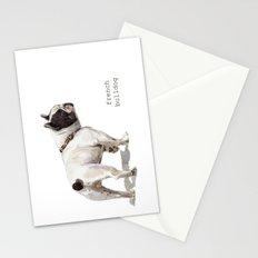 French Bulldog A050 Stationery Cards