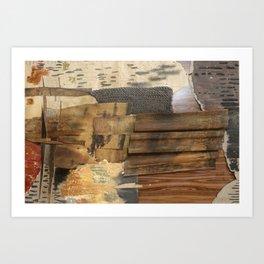 Ga Be series: Innerwork (Cambria) #materialstudy (2018) Art Print