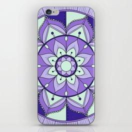 Mandala Maze iPhone Skin