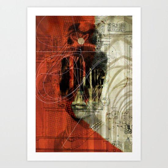 Die Kirchenmaus 1 Art Print