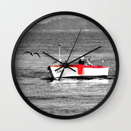 Come home from a long journey Wall Clock