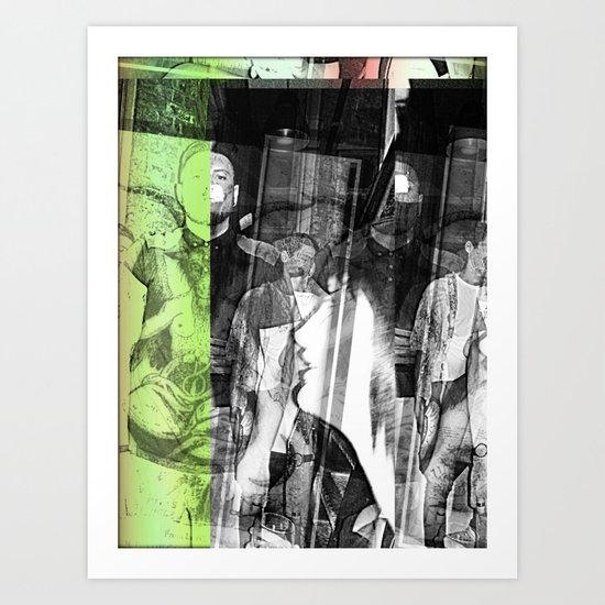 stop lookinf Art Print