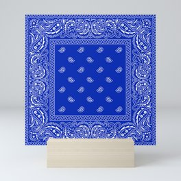 Bandana Royale  Mini Art Print