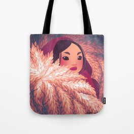 Girls of the Snow III Tote Bag