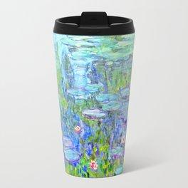 Water Lilies monet : Nympheas Travel Mug