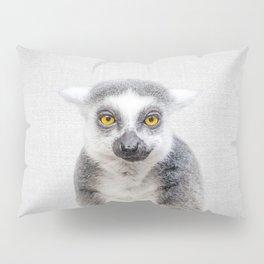 Lemur - Colorful Pillow Sham