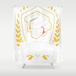Class-of-2019---Class-of-2019-Graduation-T-Shirt Shower Curtain