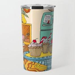 Vintage Kitchen Travel Mug