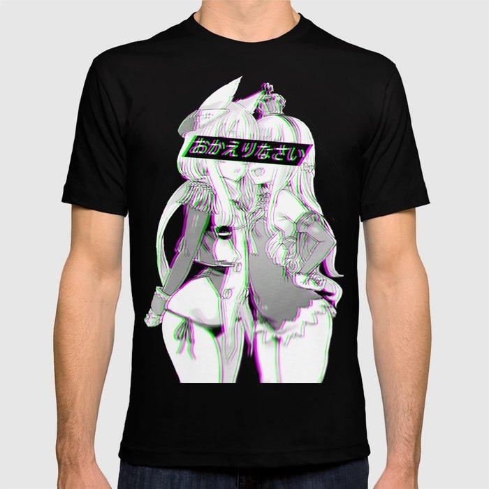 d3e131ca564 WELCOME HOME - Sad Japanese Anime Aesthetic T-shirt
