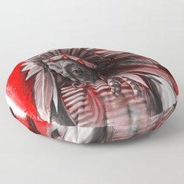Red Cloud Floor Pillow