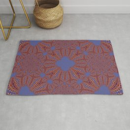 Sequential Baseline Mandala 12p Rug