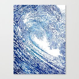 Pacific Waves IV Canvas Print