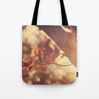 stay gold Tote Bags featuring Stay Gold by Oh, Good Gracious!