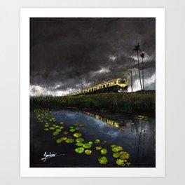 Train Bengal Art Print