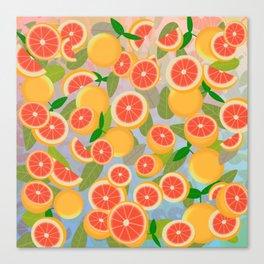 Grapefruit Song Canvas Print