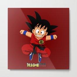 Goku kid Nice Metal Print