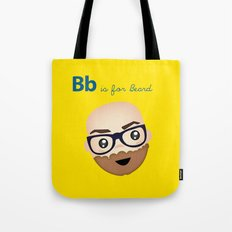 B is for Beard Tote Bag