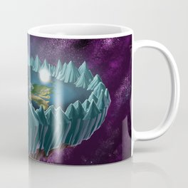 The Flat Earth Coffee Mug