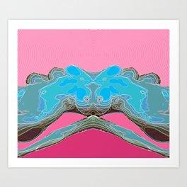 Mamo Hills Art Print