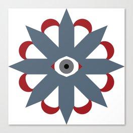 Eye Star Claw Canvas Print