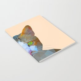 Cat new with background Notebook