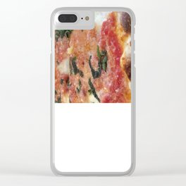 Pizza Clear iPhone Case