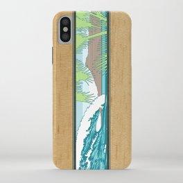 Ala Moana Diamond Head Hawaiian Surf Sign iPhone Case