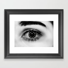 Lock it Framed Art Print