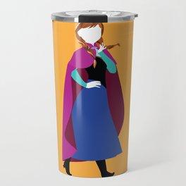 Anna from Frozen - Princesses series Travel Mug