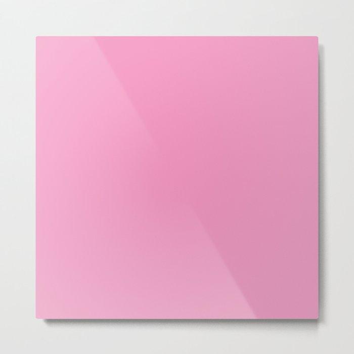 Pretty Pink Metal Print